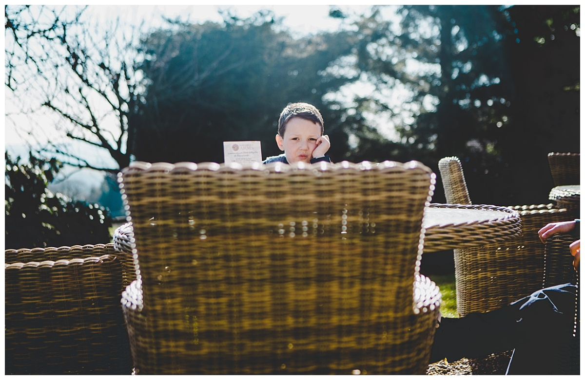 creative documentary images from Lancashire wedding photographer