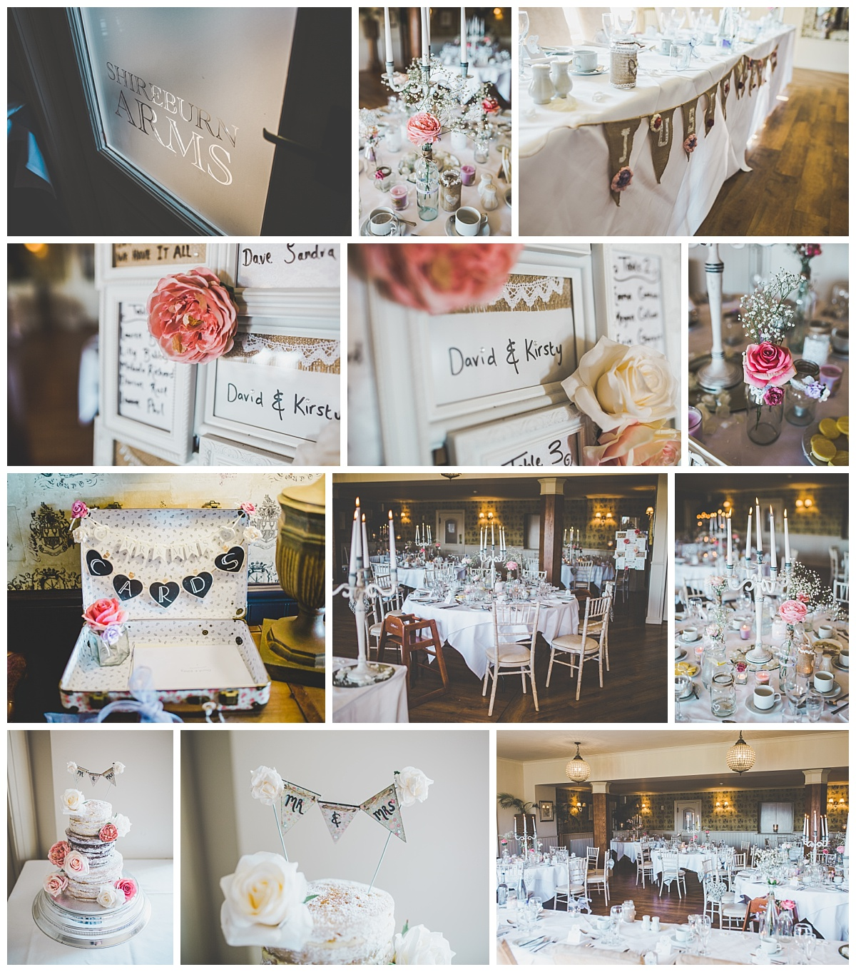 rustic inspired handmade wedding decoration
