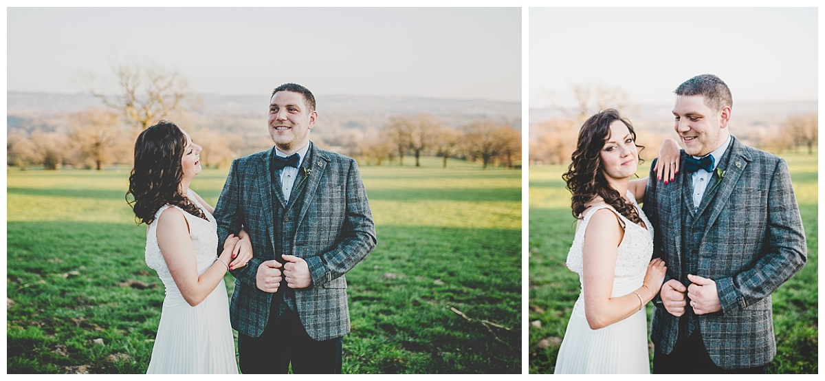 bride and groom portaits - shireburn arms wedding