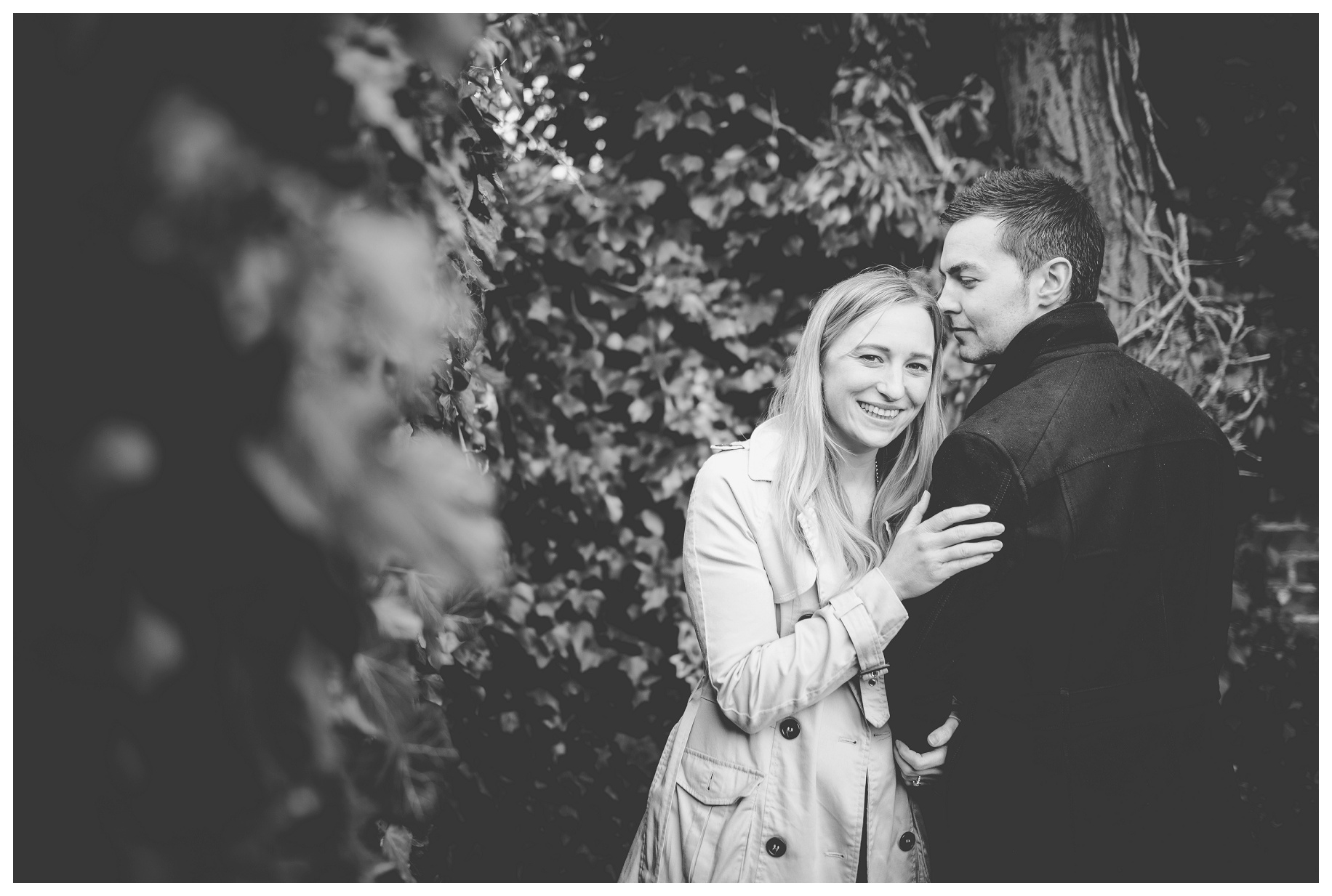 Cheshire wedding photographer - pre wedding photoshoot - The Oaktree of Peover (4)