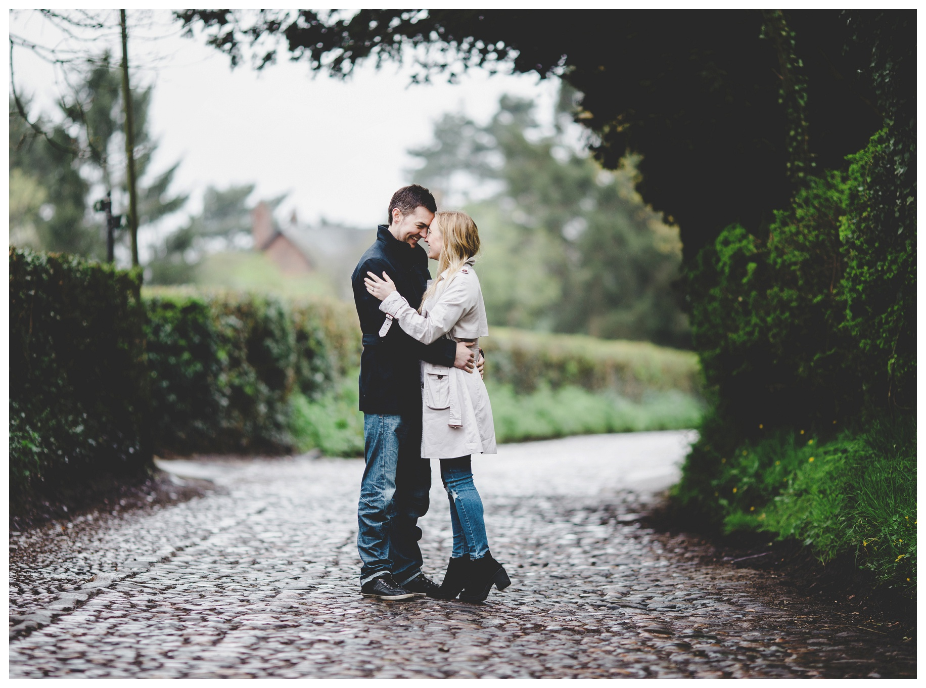 Cheshire wedding photographer - pre wedding photoshoot - The Oaktree of Peover (6)
