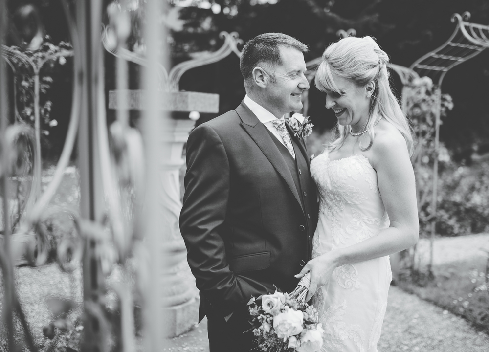 intimate portraits of the bride and groom
