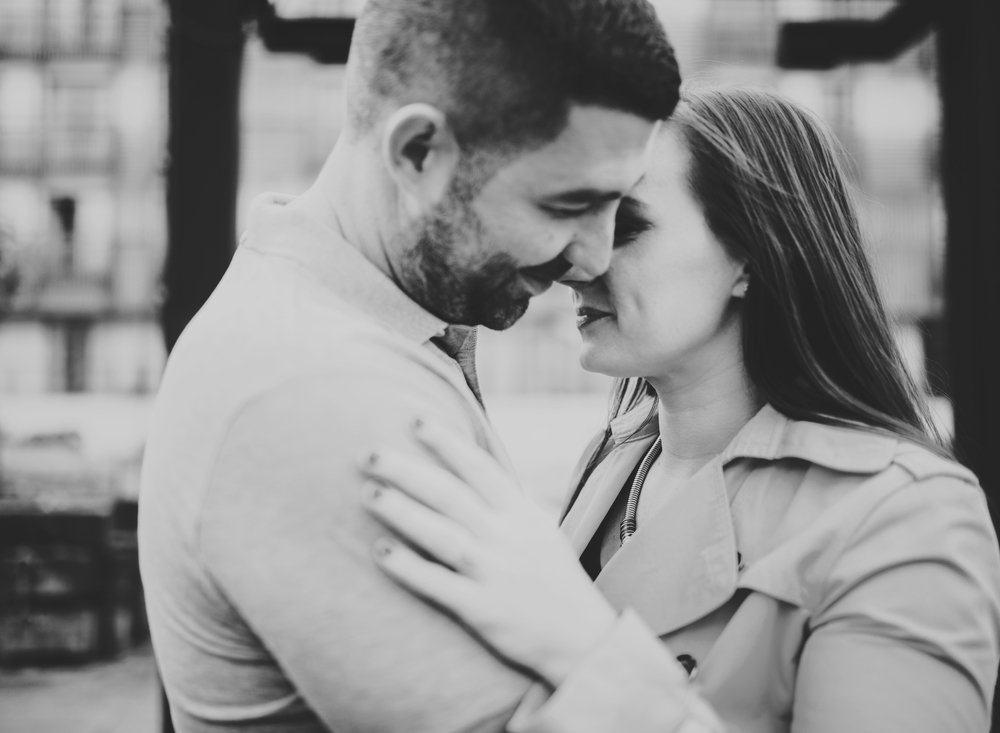 intimate portraits of bride and groom - manchester wedding photography