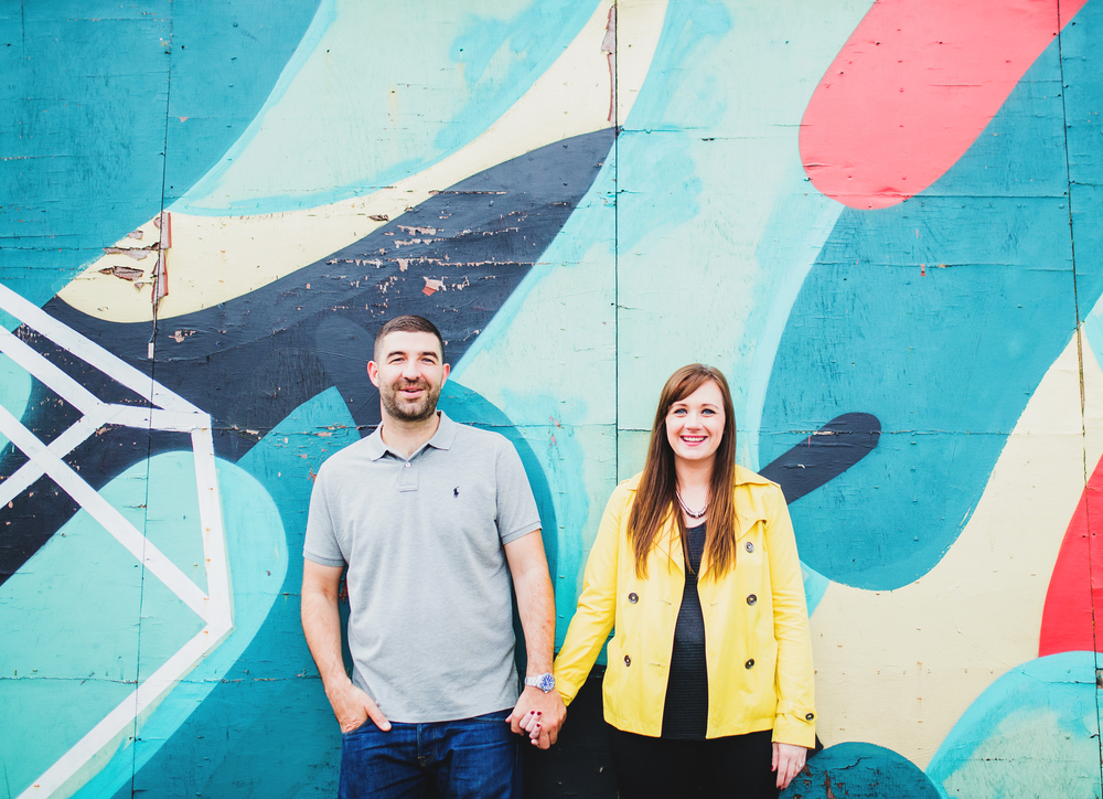 cool engagement shoot in the northern quarter