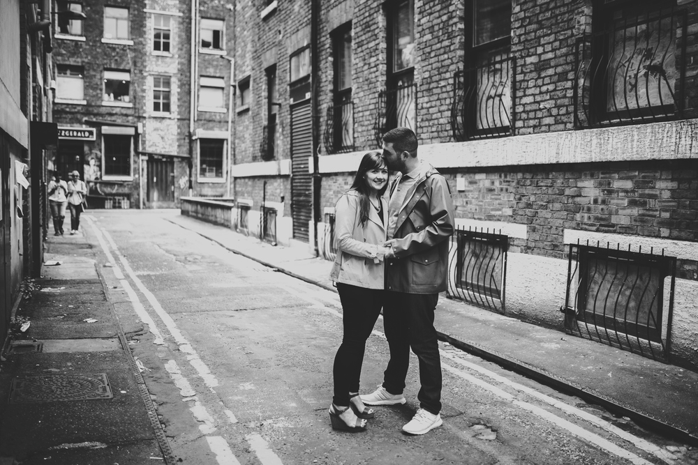 in manchester's northern quarter - a pre wedding shoot