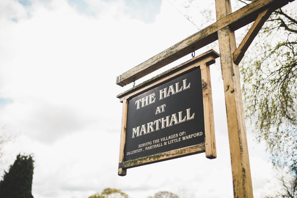 wedding photographer at marthall hall