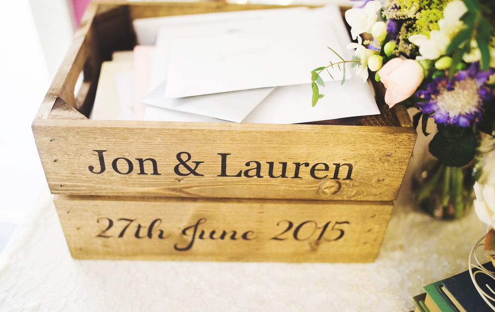 A place for cards-Wedding photographer southport.