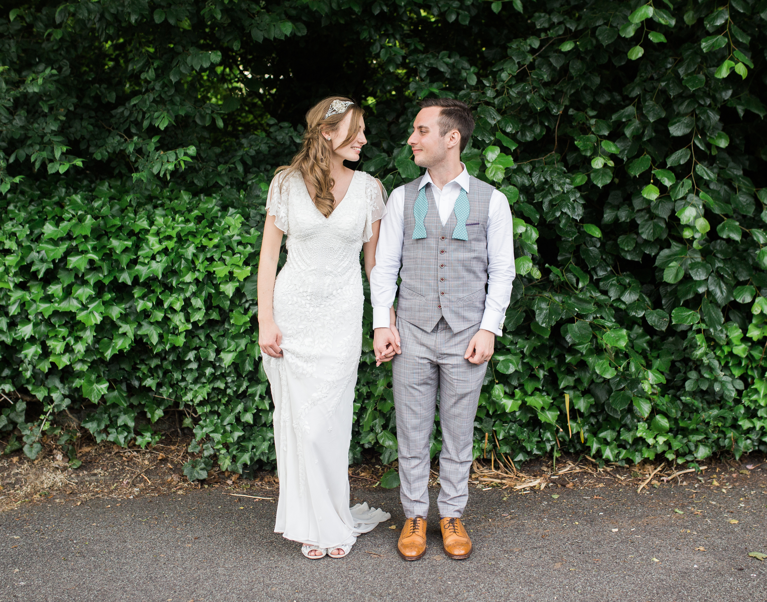 cool and quirky wedding photography Lancashire