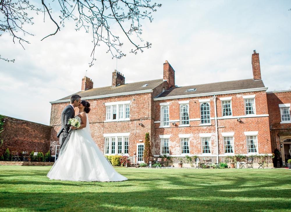 Lancashire wedding photographer at the Singleton Lodge.