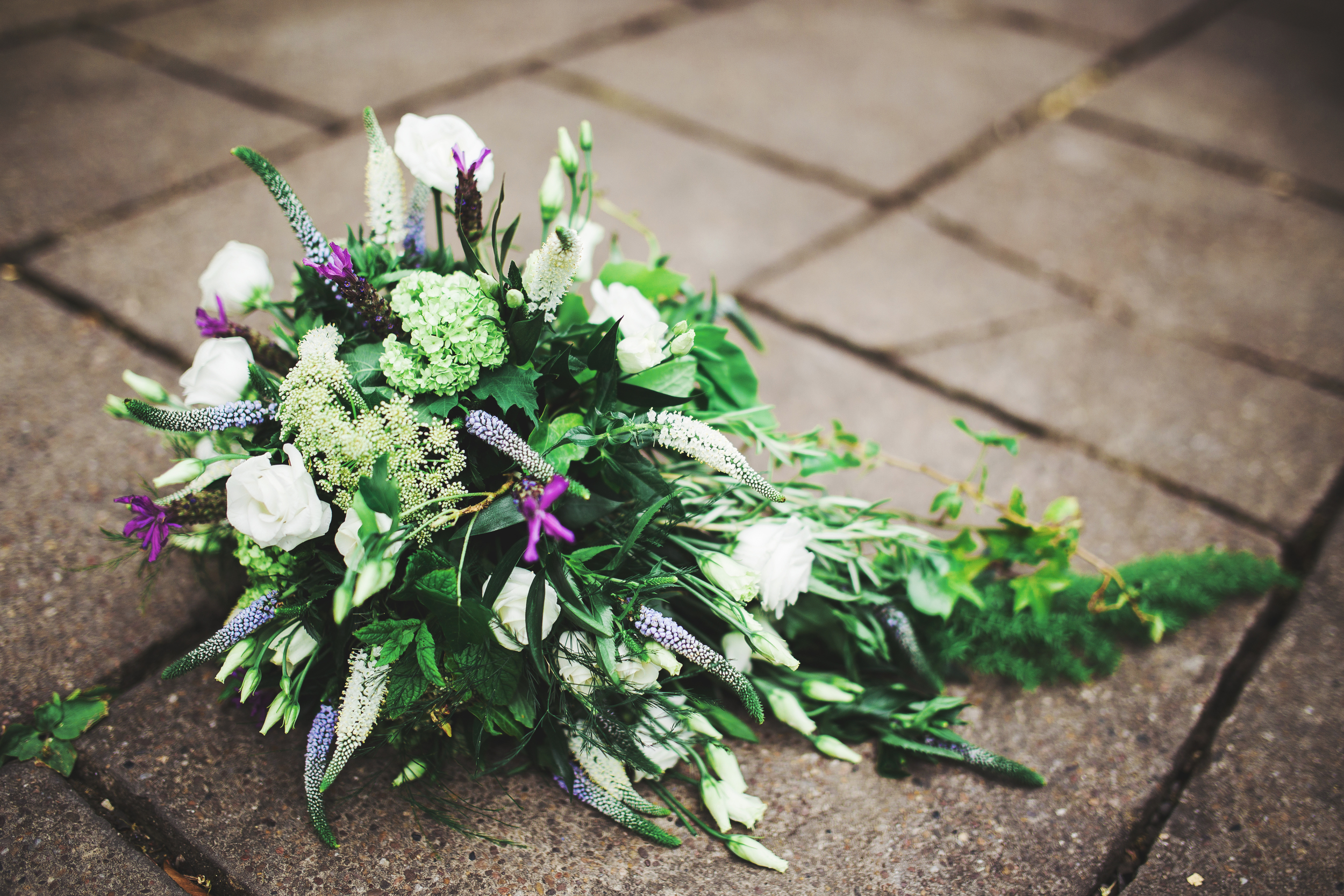 close up of bouquet
