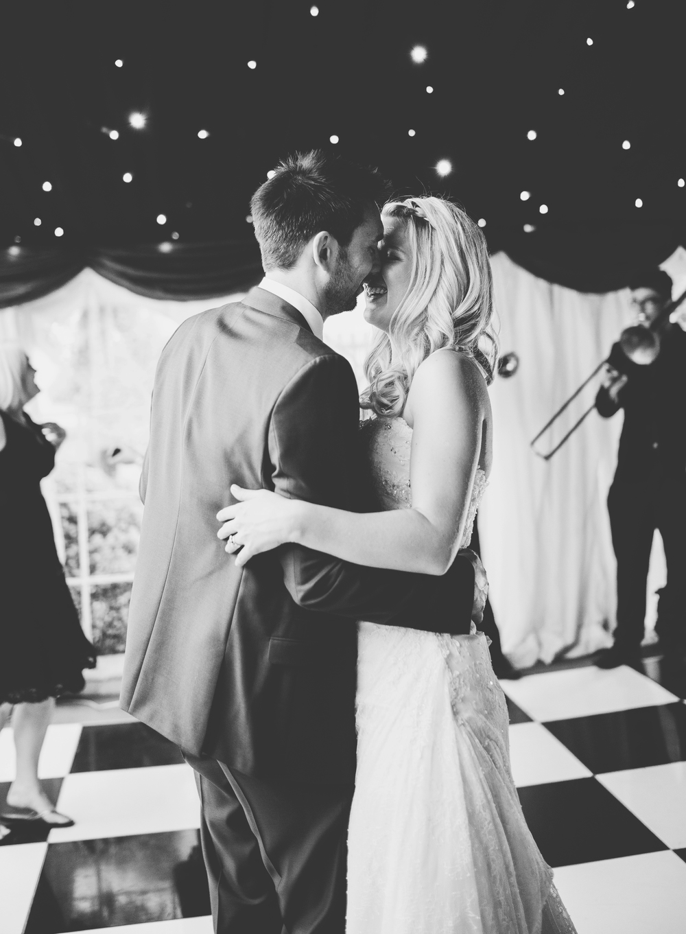 The first dance at the Churchill Hotel.