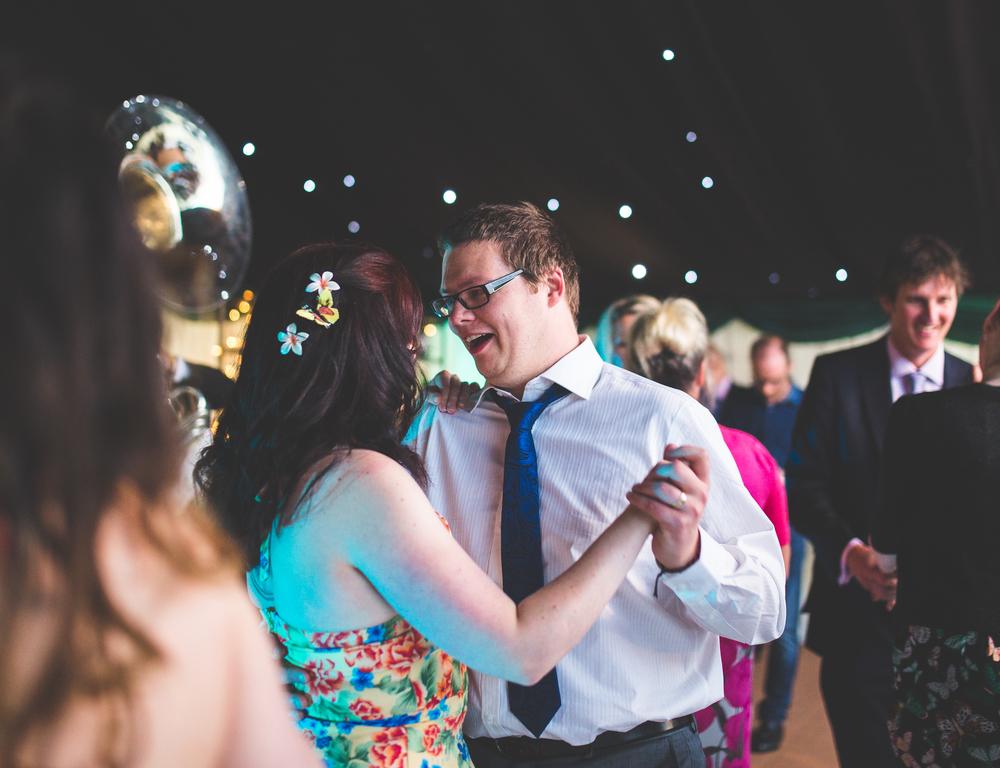 Full dance floor at the Churchill Hotel, York.