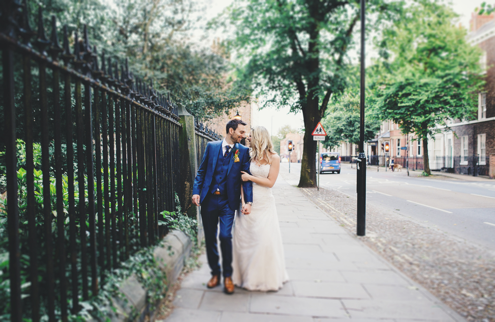 Churchill Hotel wedding photographer, York.  Natural and relaxed wedding photography