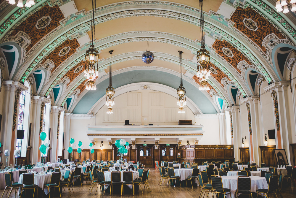 Stockport Town Hall is the wedding venue of choice.