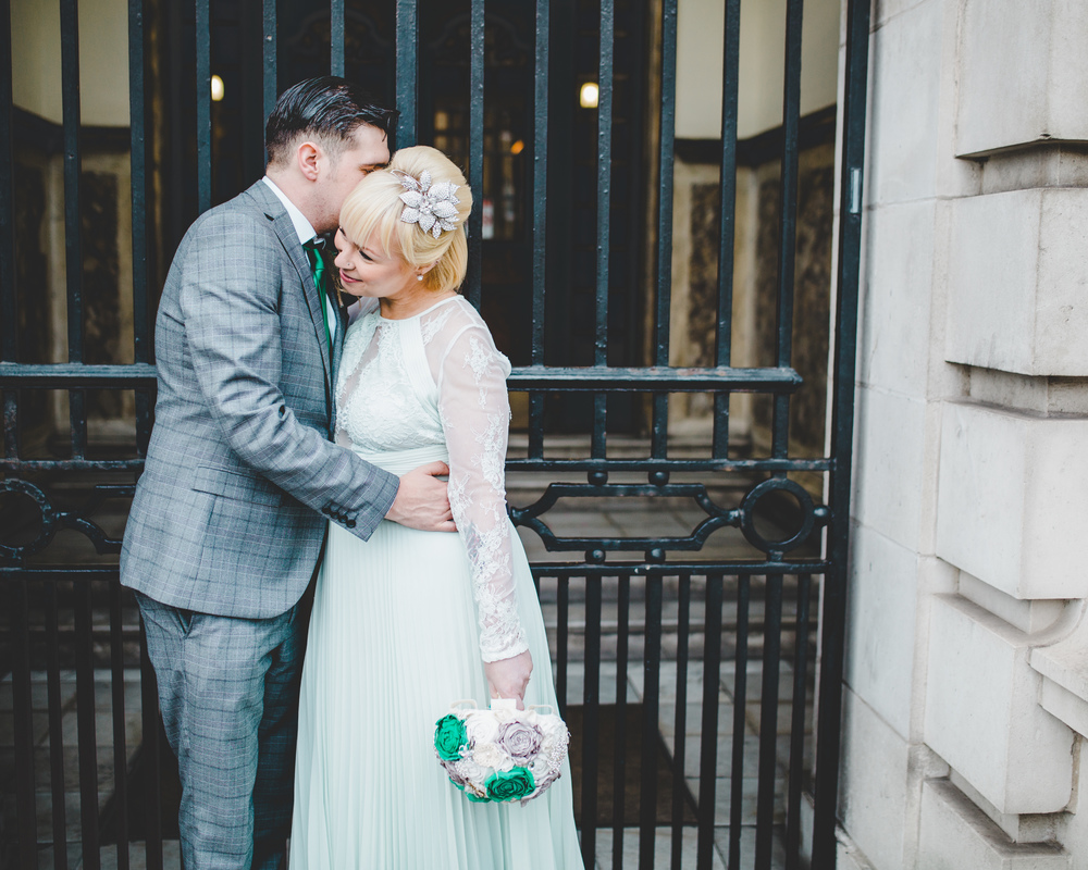 A relaxed wedding in Stockport.