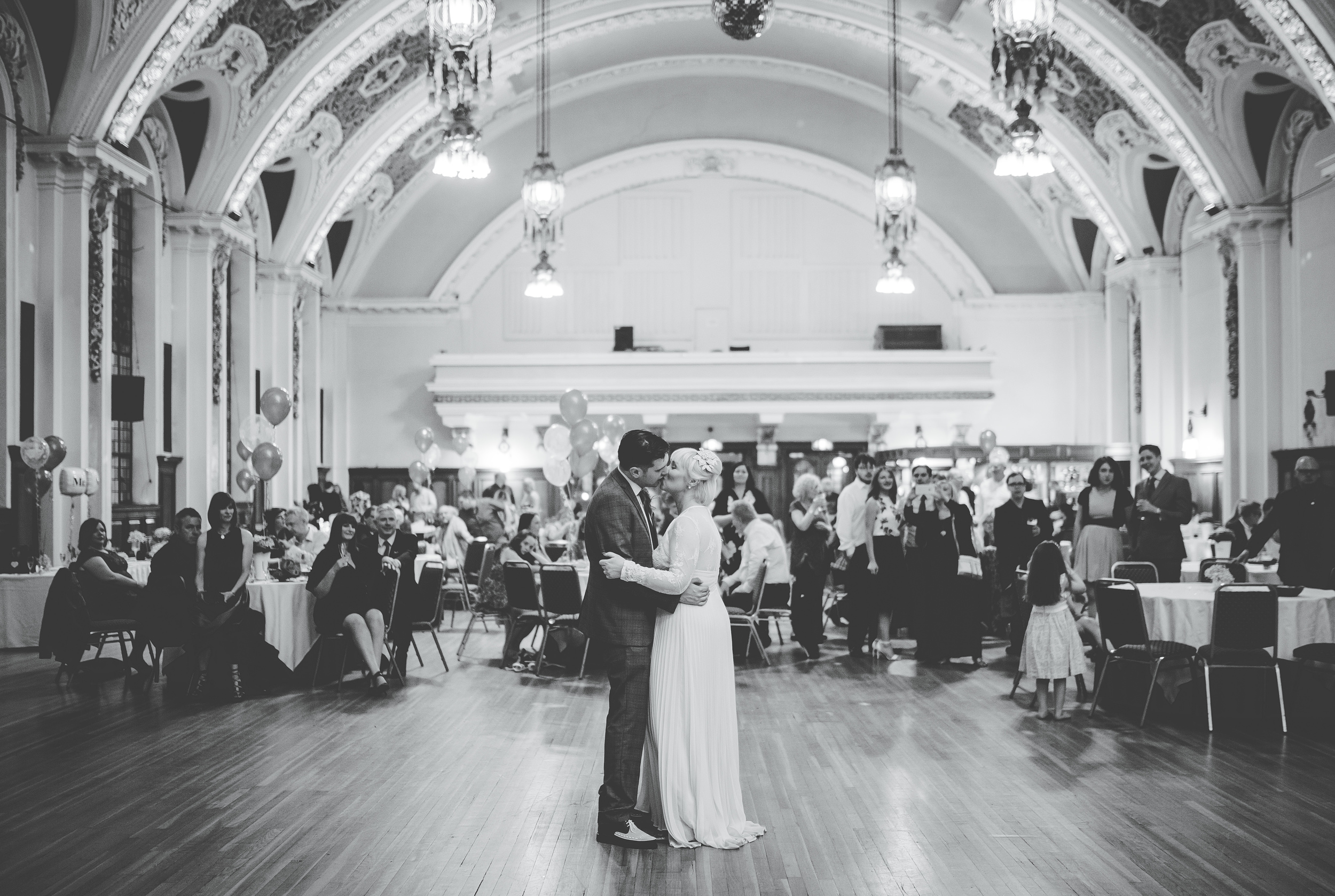 first dance at Stockport Town Hall