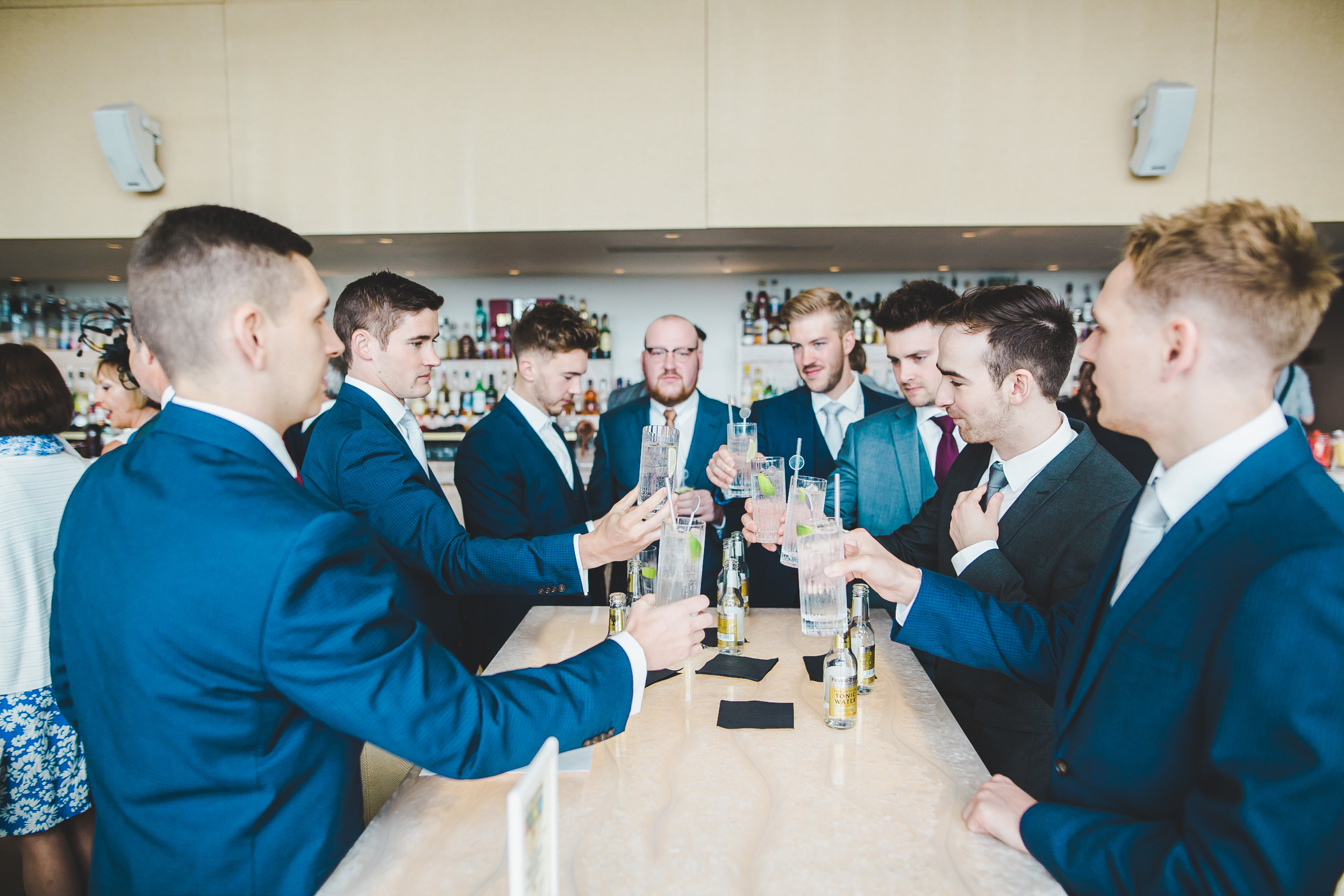 cheers - wedding drinks