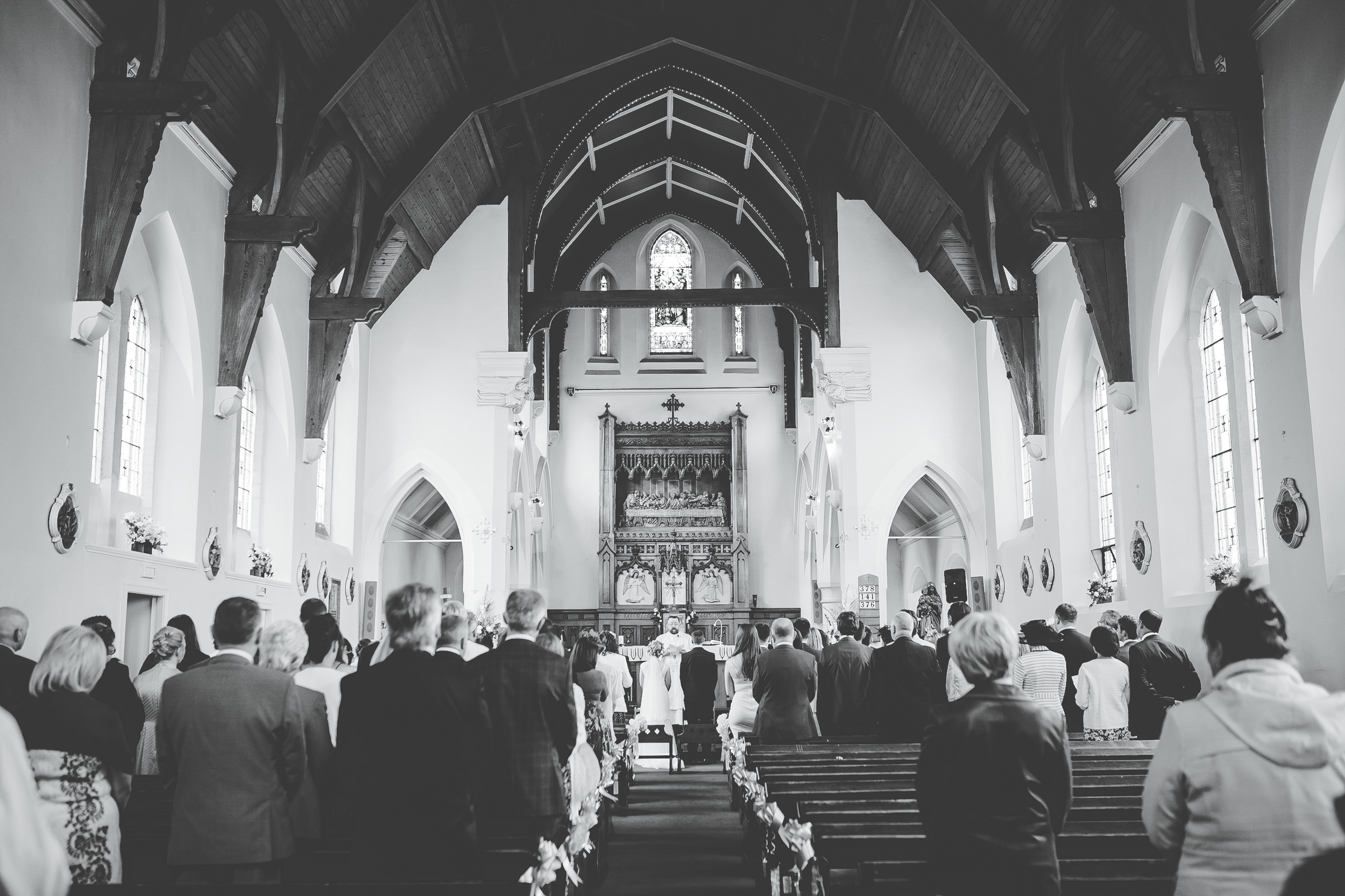 beautiful church ceremony