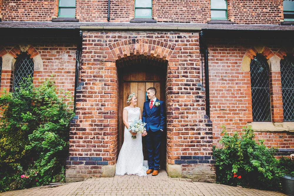 Manchester photographer, the bride and groom.