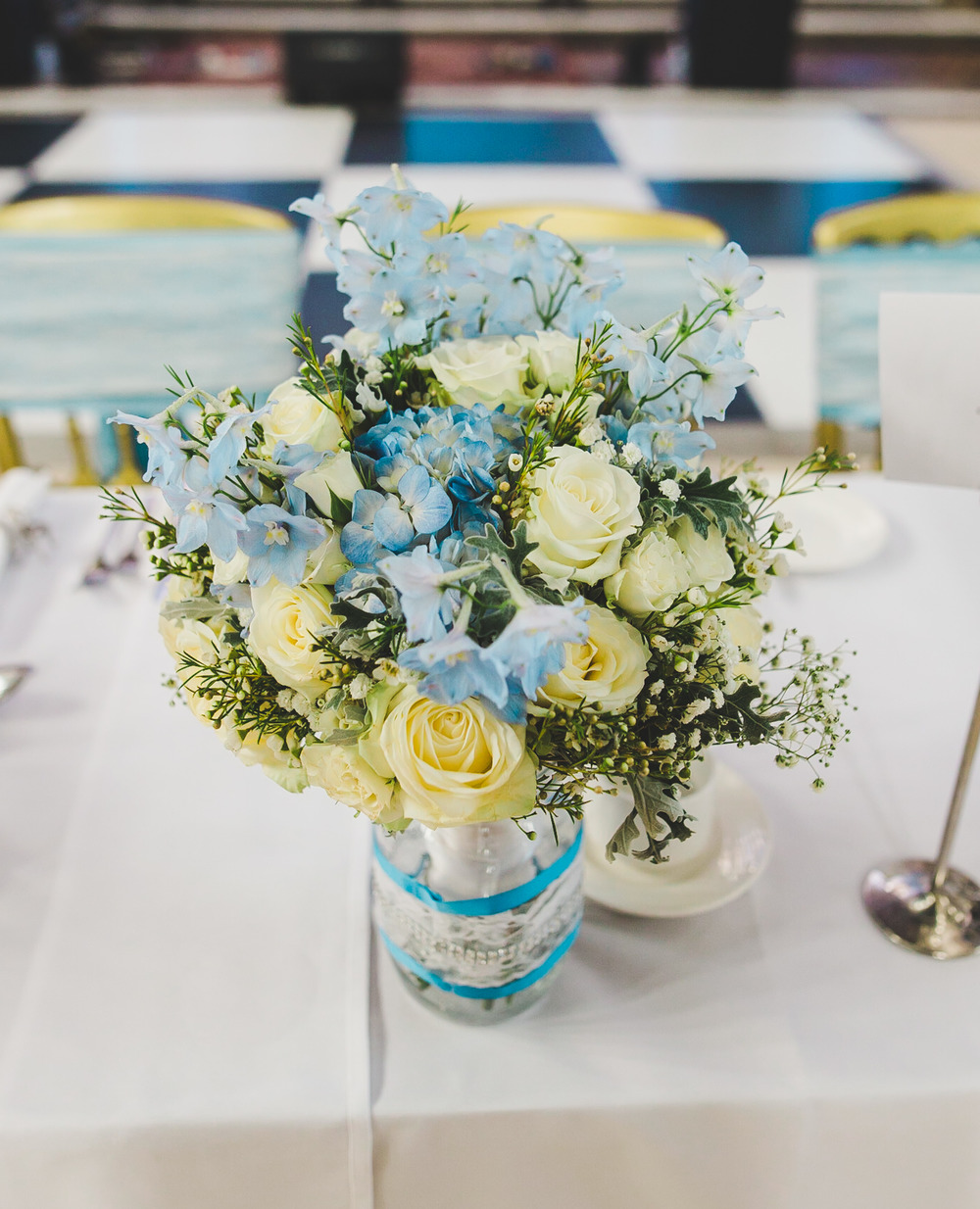 The table arrangement- Wedding photographer in manchester