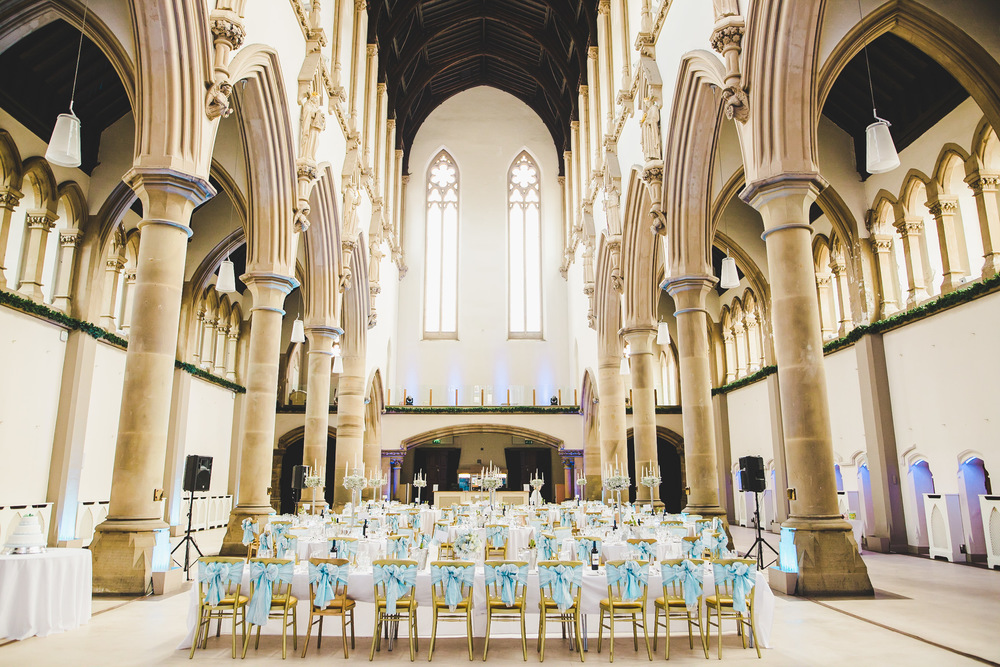 The lovely wedding venue of Gorton Monastery, Manchester.