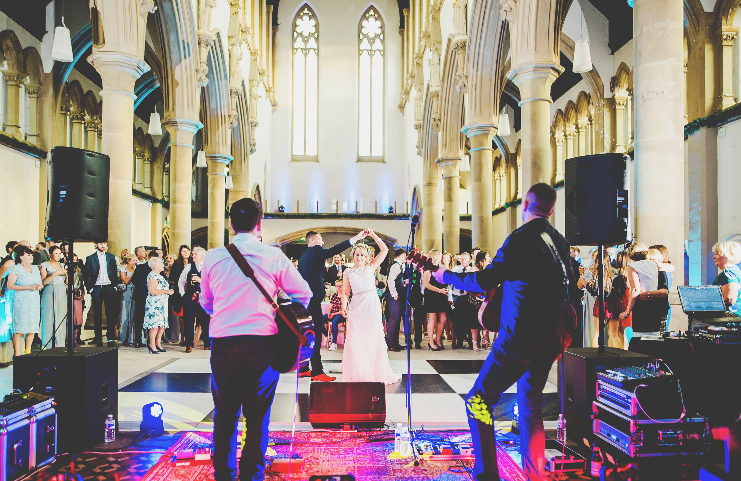 first dance at Gorton Monastery