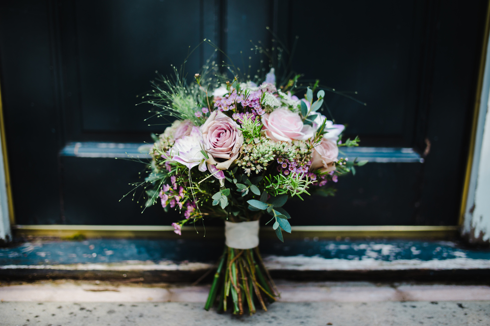 Manchester Wedding Photographer - Bride's bouquet