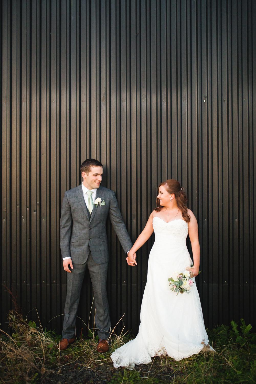 The beautiful bride and groom, Beeston Manor wedding.