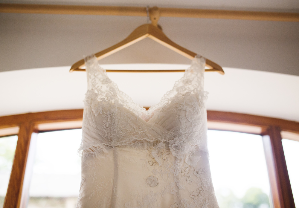 Th bridal dress for the Ribble Valley Wedding.