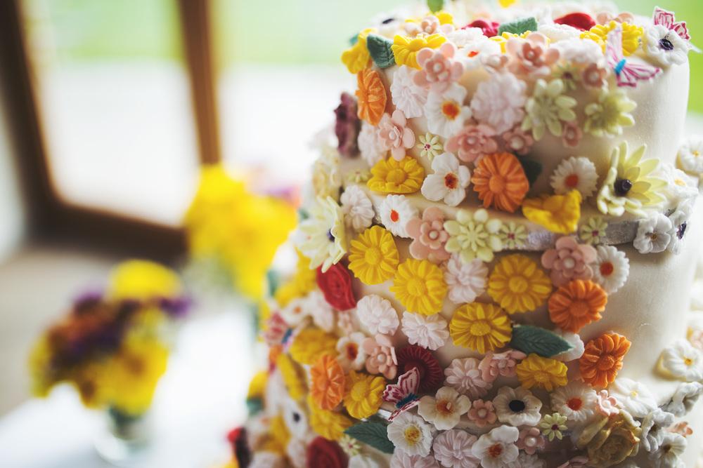 Handmade wedding cake- Country wedding