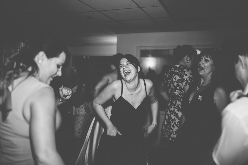 Documentary photography of gusts dancing at the mad hatter themed wedding- Sparth house