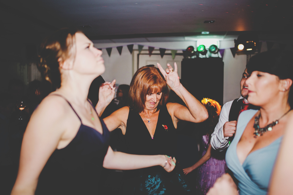 Dancing is always good at a wedding, dancing wedding guest- Lancashire photographer
