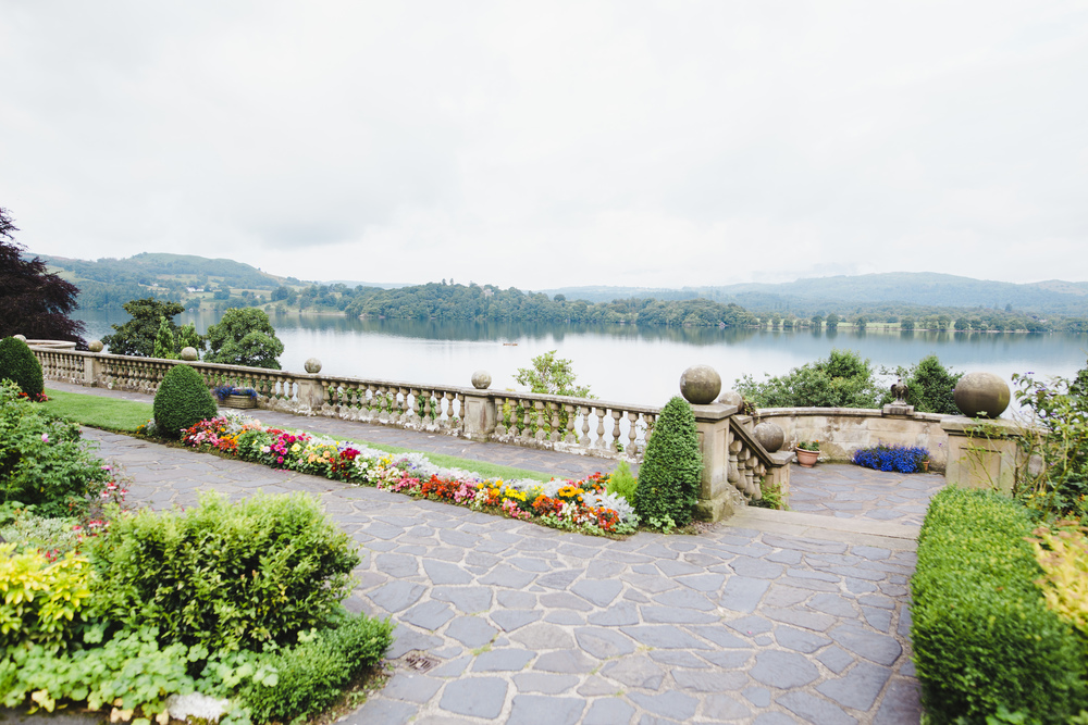 The view from the wedding venue at the Lake District- Wedding photographer