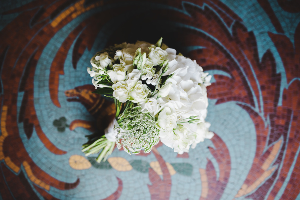 The flower bouquet for the bride, Wedding photographer in the Lake District