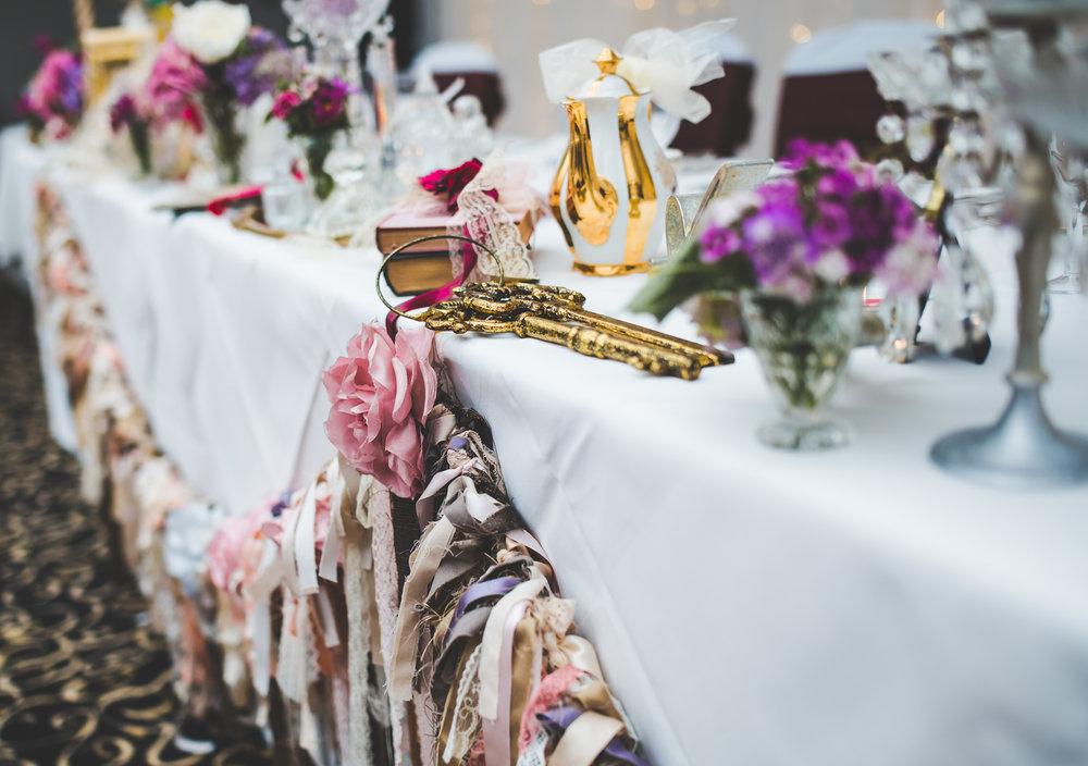 Wedding interior decoration- Vintage themed wedding
