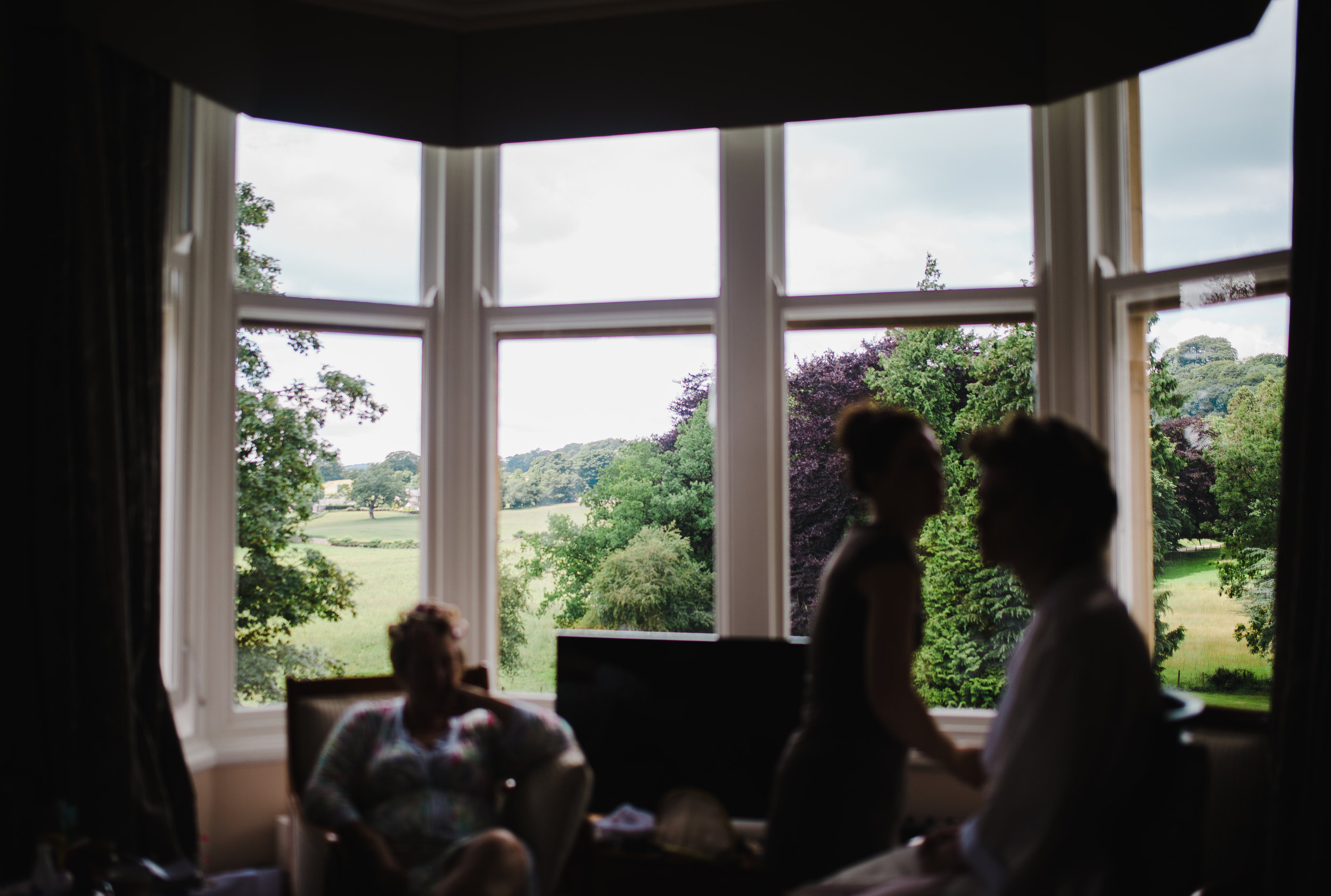 location shot - The Villa at Levens in the Lake District