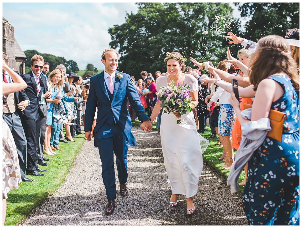 summer wedding in Slaidburn