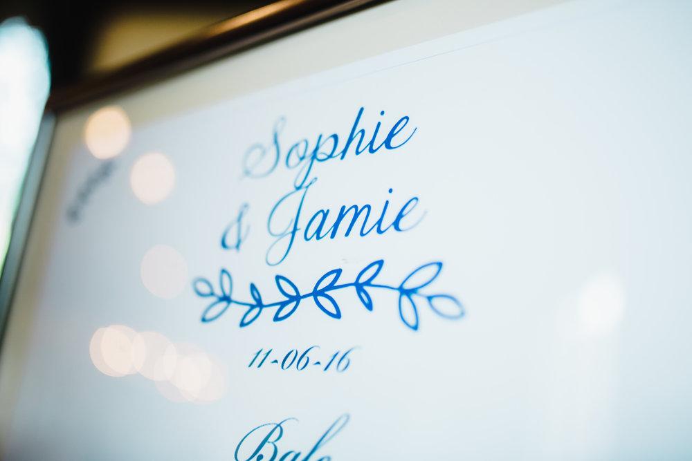 Interior table arrangements at the Samlesbury Hall wedding- Lancashire wedding photography