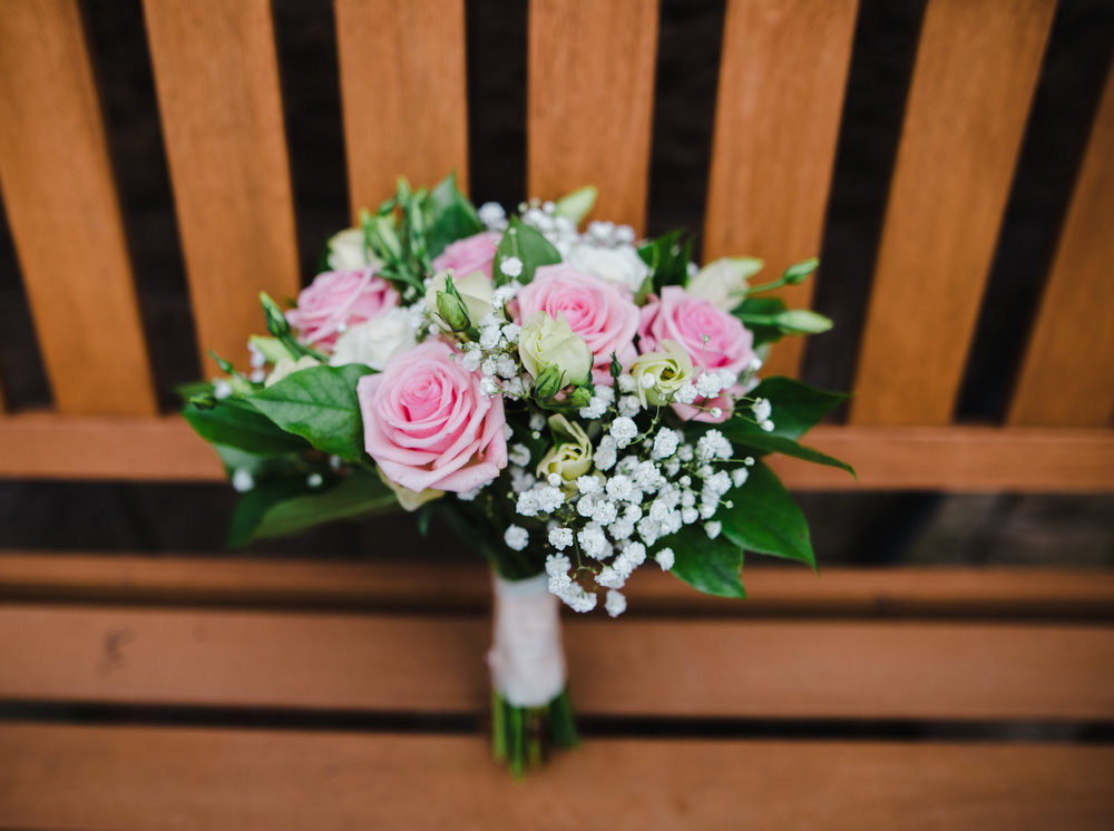 The brides bouquet- All about Flowers, Milnrow