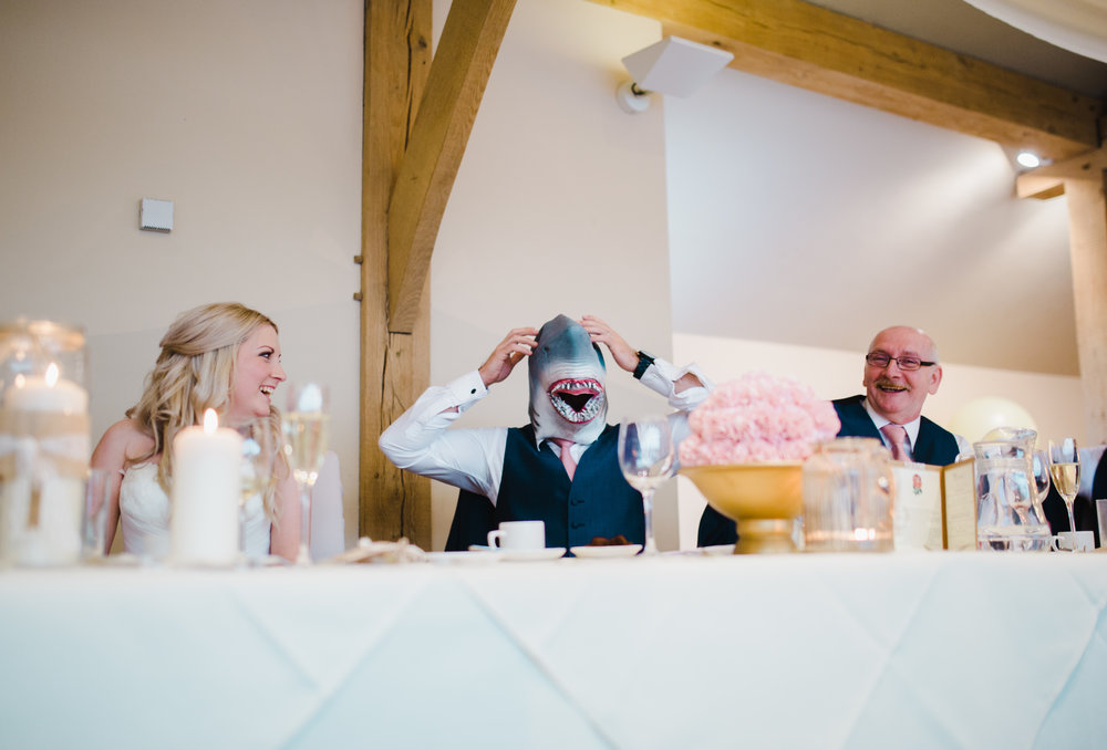 Fun and games at the fun modern north west wedding