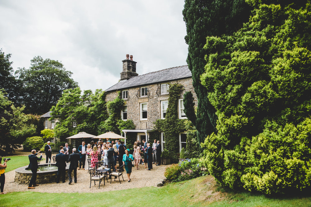 Exterior photograph of Hipping Hall Kirkby Lonsdale.