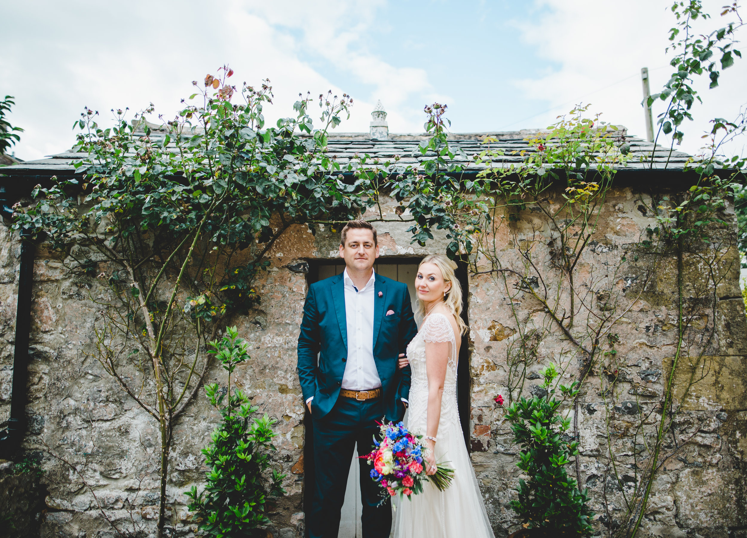 wedding pictures at Hipping Hall - Lake District