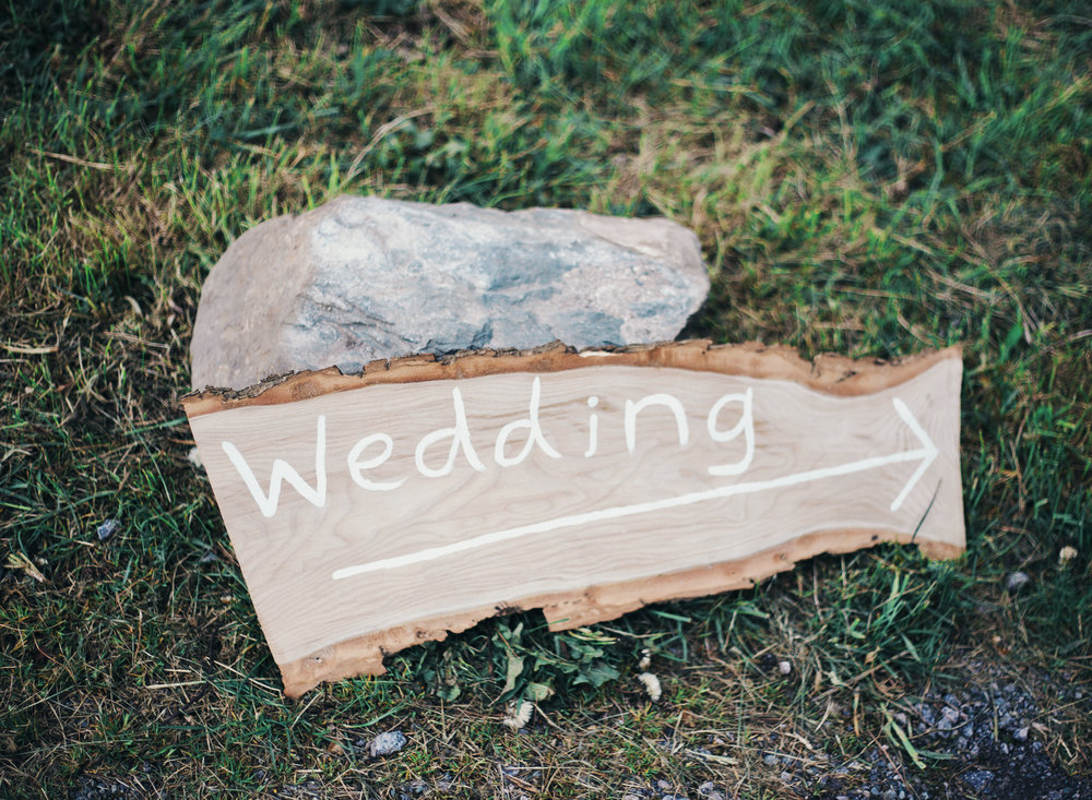 Exterior decoration for the vintage themed wedding- Lake district wedding photography