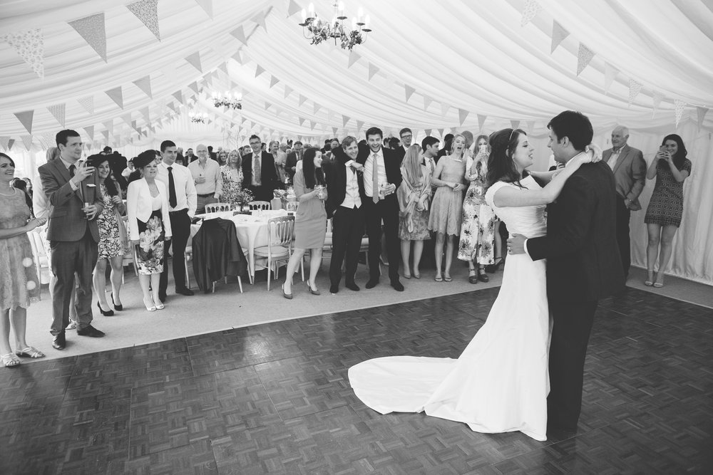 the bride and groom first dance- Documentary photography