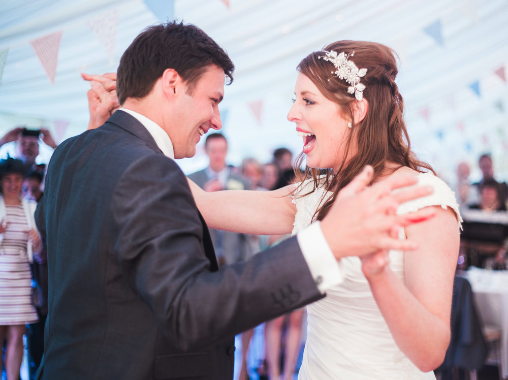 bride and groom hitting the dance floor, Creative wedding photography