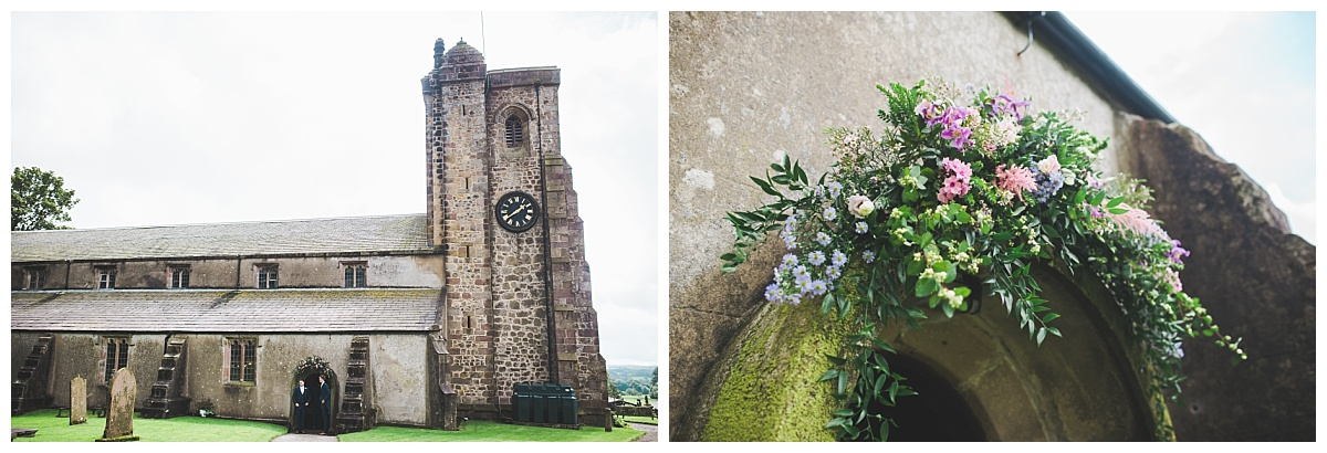 church in Slaidburn - wedding photographer Lancashire