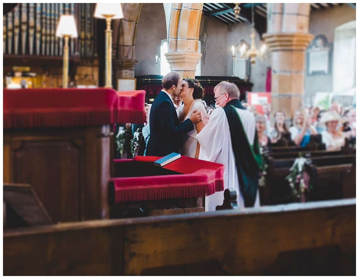 church wedding in Slaidburn