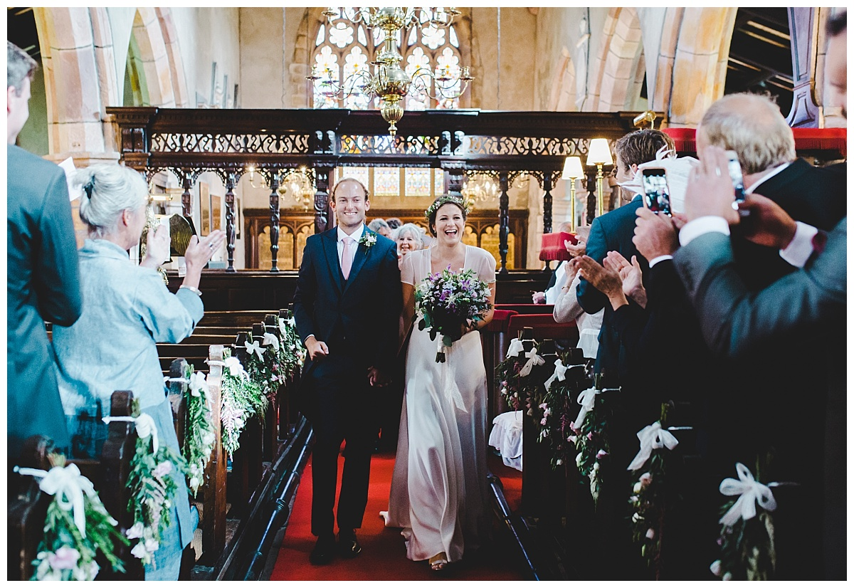 Slaidburn church wedding
