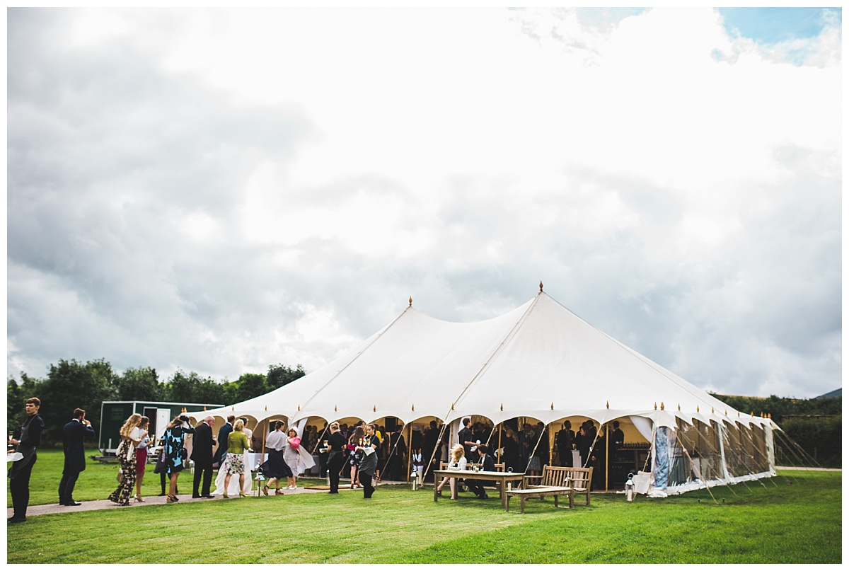 marquee wedding - Lancashire wedding photographer