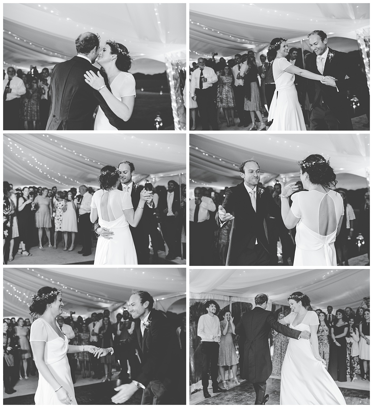 first dance - Marquee wedding Lancashire